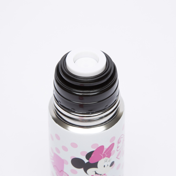 Minnie Mouse Printed Thermos Flask - 350 ml