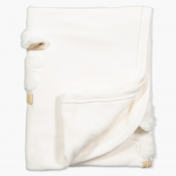 Juniors Embroidered Blanket - 95x72 cms