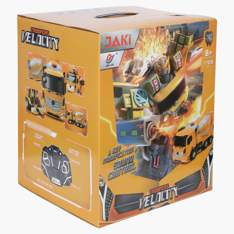 Transformers Convertible Cement Mixer Toy