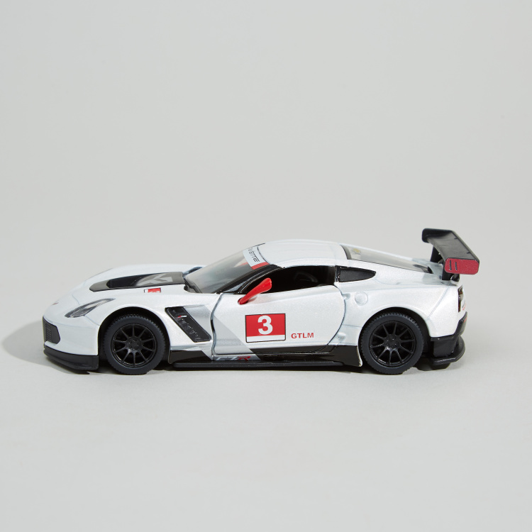 KiNSMART2016 Corvette C7 R Toy Car