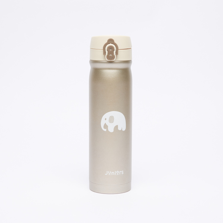 Juniors Elephant Printed Insulated Bottle  - 500 ml