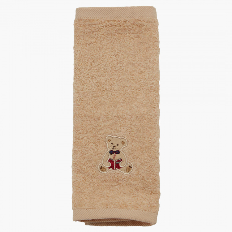 Juniors Embroidered Towel - 30x30 cms