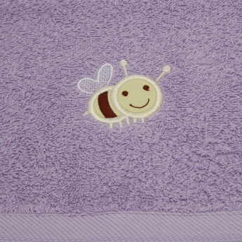 Juniors Applique Detail Bath Towel - 30x30 cms