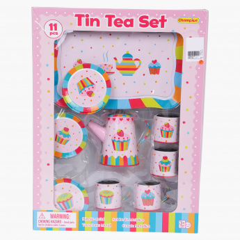 Printed 11-Piece Tea Playset