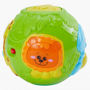 Juniors Roll and Pop Jungle Activity Ball