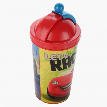 Cars Print Sipper Bottle