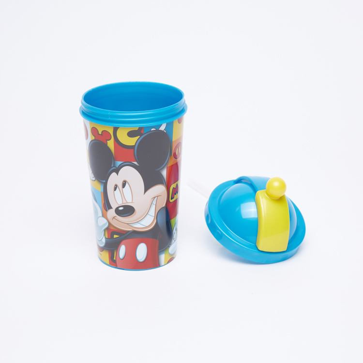 Mickey Mouse Printed Sipper Water Bottle