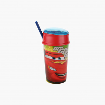 Cars Print Sippy Bottle