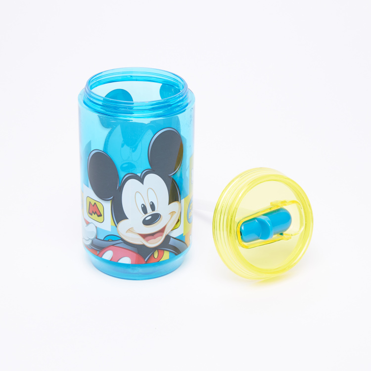 Mickey Mouse Printed Sipper Bottle - 410 ml