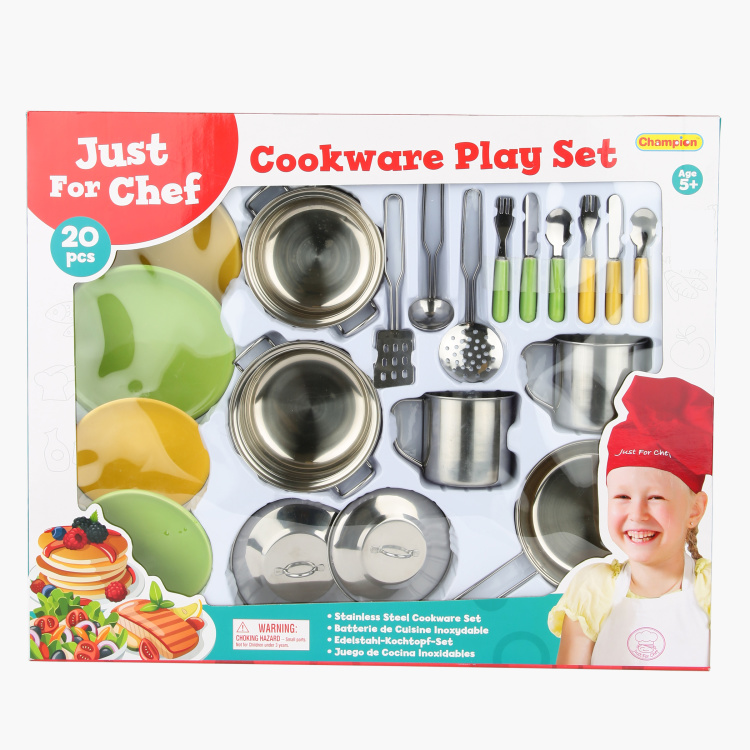 Champion 20-Piece Cookware Kitchen Playset