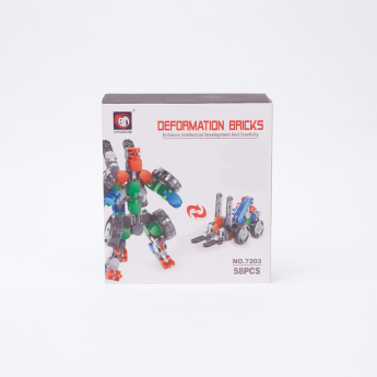 Deformation Bricks 58-Piece Lifter Playset