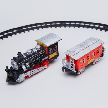 Electric Train Track Series Playset