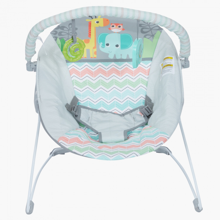Bright Starts Giggle and See Safari Bouncer