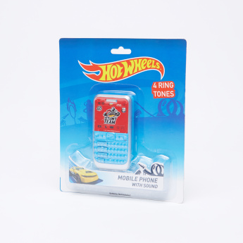 Hot Wheels Mobile Phone Toy with Light and Sound
