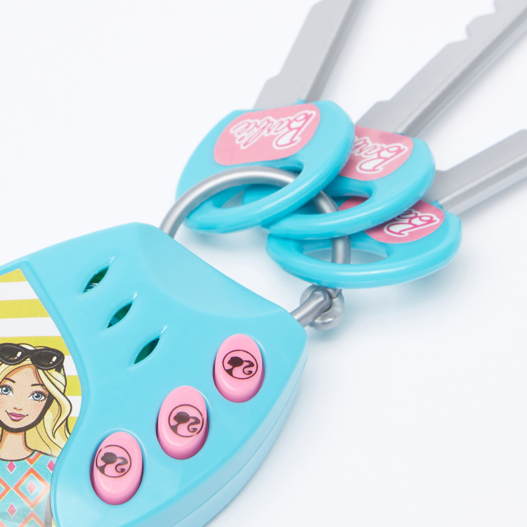 Barbie Printed Electronic Key Musical Toy