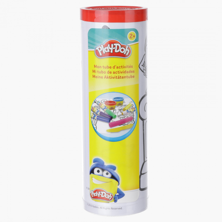 Play-Doh Activity Tube