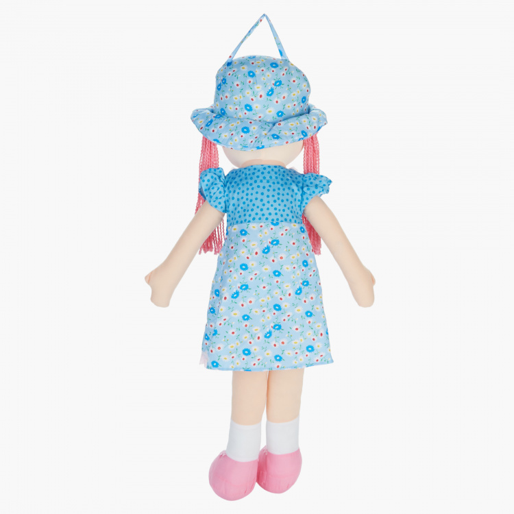 Juniors Rag Doll in Blue Dress