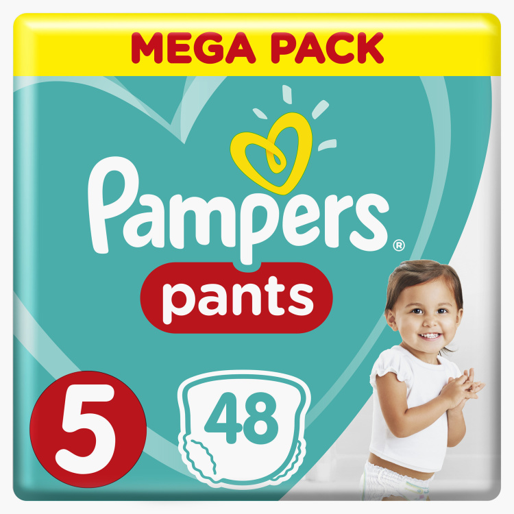 Pampers Junior Size 5, 48-Diaper Pants Jumbo Pack - 12 to 18 kgs