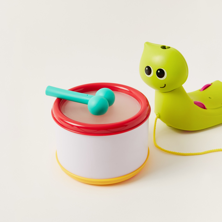 Speedys Magical Shell Snail Rattle Toy