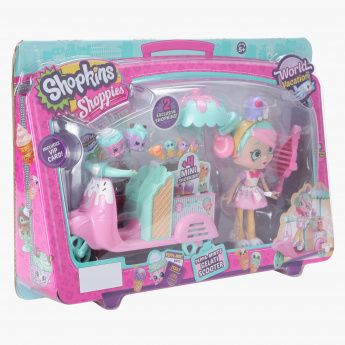 Shopkins Shoppies 17-Piece Play Set