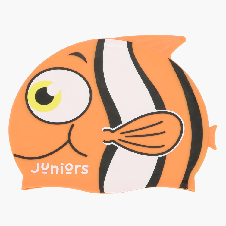 Juniors Printed Swim Cap