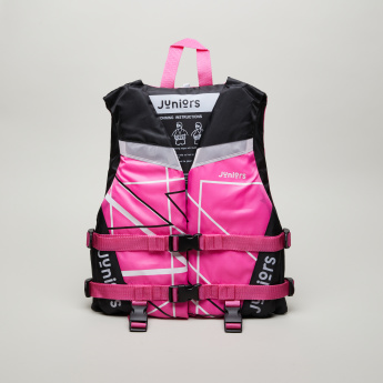 Juniors Printed Life Vest with Buckle Closure