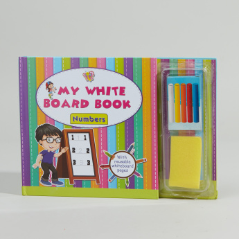 White Board Book of Numbers