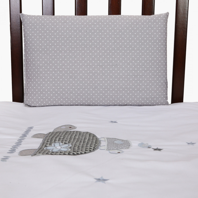 Giggles Printed 3-Piece Quilt Set