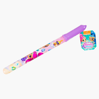 Shimmer and Shine Printed Bubble Stick