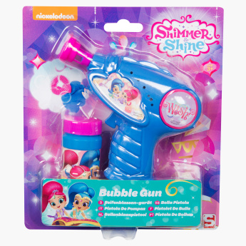 Shimmer and Shine Printed Toy Bubble Gun