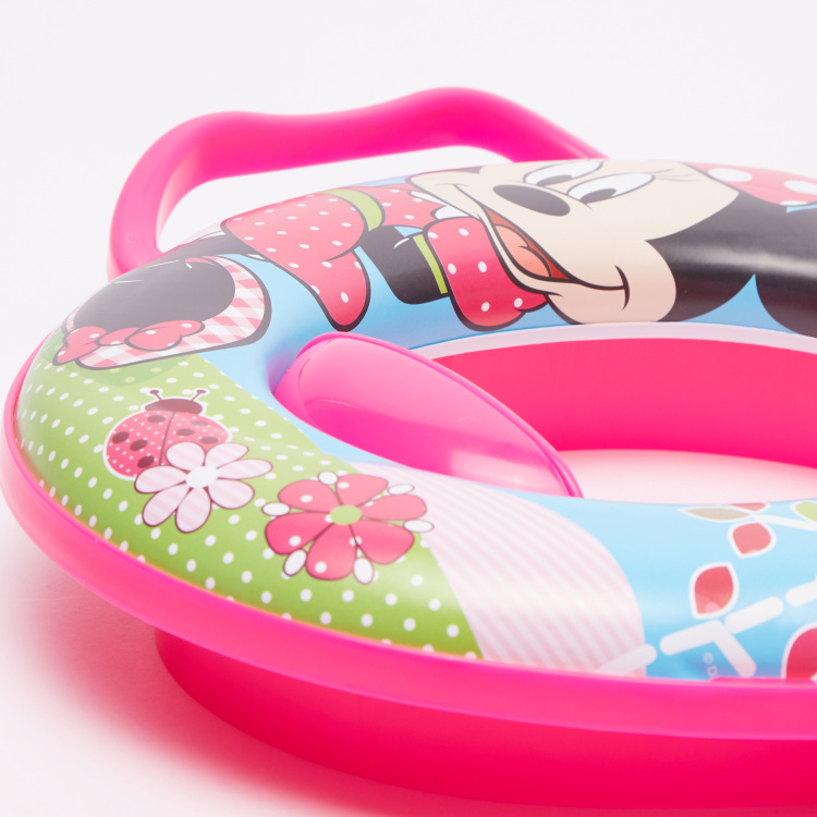 Keeper Minnie Mouse Printed Toilet Seat