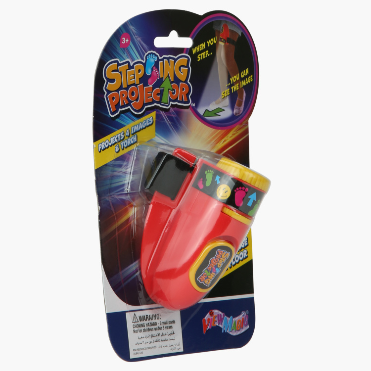Stepping Projector Toy with LED Light
