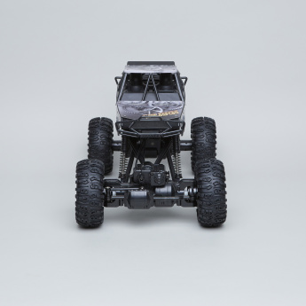 Remote Controlled 2-Piece Rock Crawler Set with Lights and Sounds