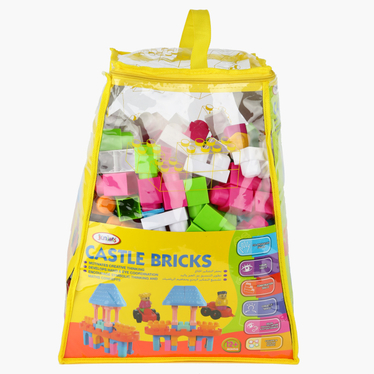 Juniors Castle Bricks Building Blocks Playset