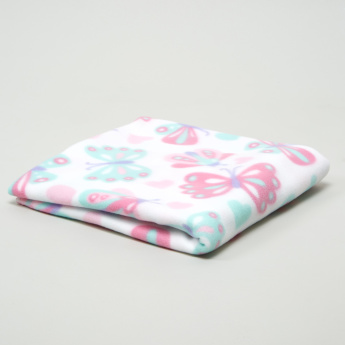 Juniors Butterfly Printed Blanket - 76x102 cms