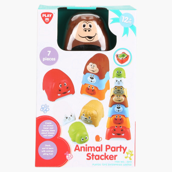 Playgo 7-Piece Animal Party Stacker