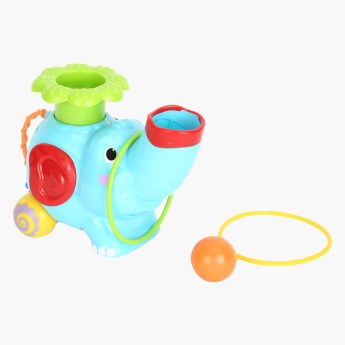 Playgo Pop N Hoop Roller Elephant Toy