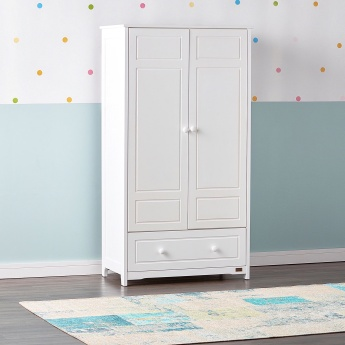 Giggles Double Door Wardrobe with Drawer