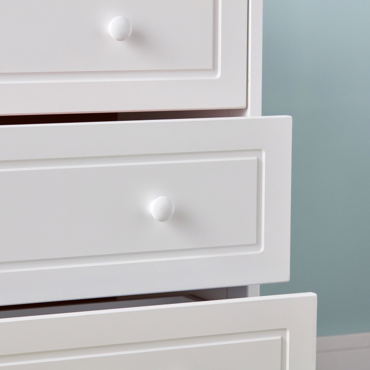 Giggles Patricia 3-Drawer Chest of Drawers with Round Handles