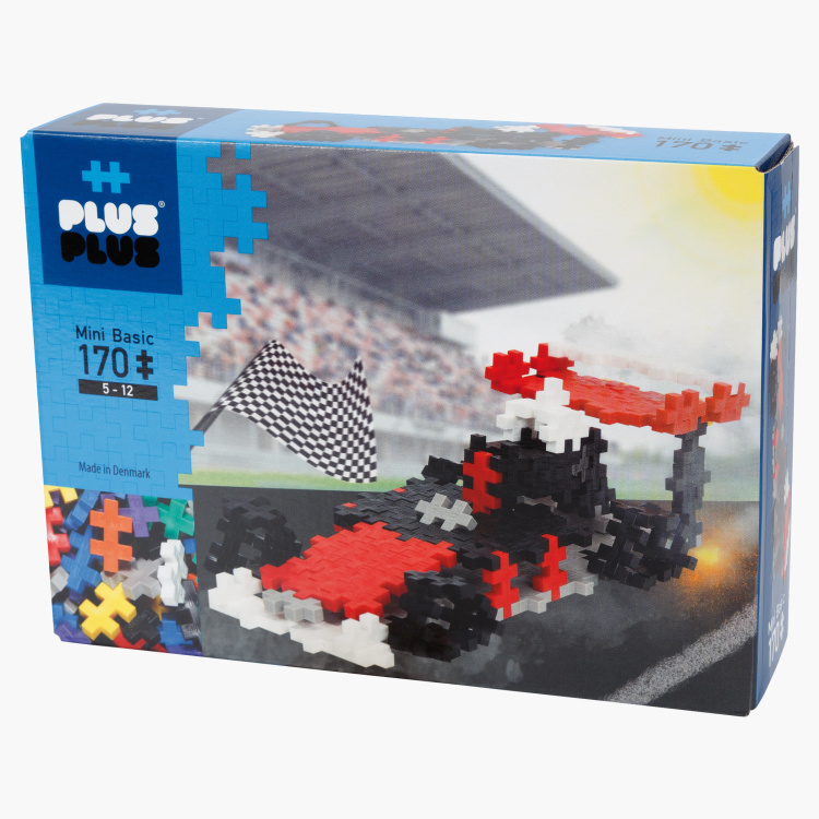 Plus-Plus Racing Car Blocks Playset