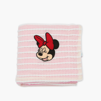 Minnie Mouse Embroidered Receiving Blanket - 76x102 cms
