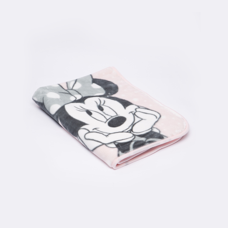 Minnie Mouse Printed Blanket - 80x110 cms