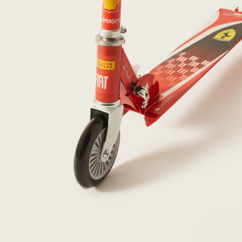 Ferrari Printed 2-Wheel Scooter