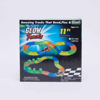 Glow-in-the-Dark 120-Piece Track Playset