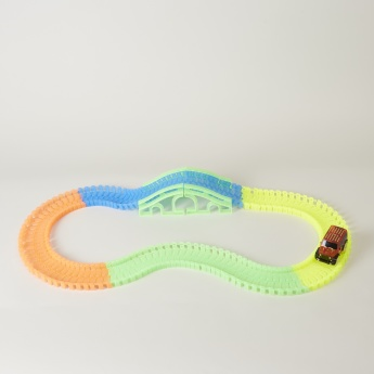Glow-in-the-Dark Track Playset - 132 Pieces