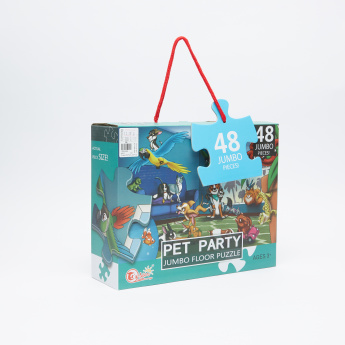 Juniors 48-Piece Pet Puzzle Set