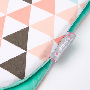 CuddleCo Printed Stroller Cushion with Memory Foam