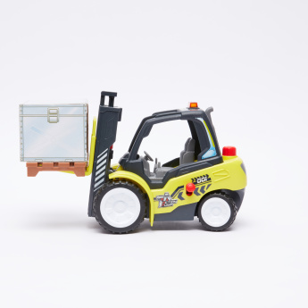 DICKIE TOYS Action Forklift with Air Pump Function