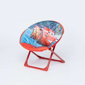 Cars Printed Foldable Moon Chair