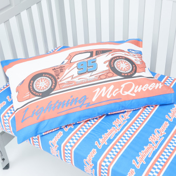 Cars Printed 3-Piece Comforter Set - 130x170 cms